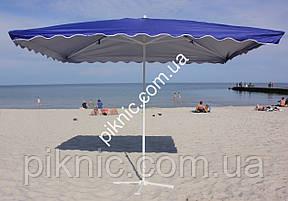 Зонт торговый, садовый 3х3м. Мощный зонт для торговли и летних площадок кафе!, фото 2