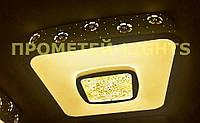 Люстра LED P7-1586s/white (1шт. - ящ.) Пультом можно регулировать свет от теплого до холодного
