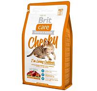 Brit Care Cat Cheeky I am Living Outdoor - сухой корм для кошек живущих на улице