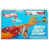 хот вилс автотрек  Даш энд Краш Hot Wheels Retro Dash & Crash Speedway Trackset