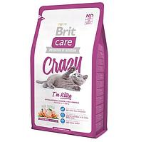 Brit Care Cat Crazy I am Kitten - сухой корм для котят 1 - 12 мес.