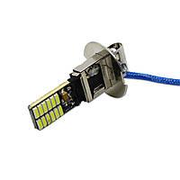 LED лампа H3, 24-SMD 4014, 12В, драйвер