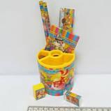 Набор настольный детский Пушистики 7 предметов, фото 2