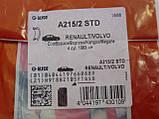 Опорний вкладиш колінчатого вала (STD) на Renault Trafic 1.9 dCi (2001-2006) Glyco (Німеччина) A215/2 STD, фото 7