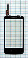 Тачскрин сенсорное стекло для Lenovo S560 black