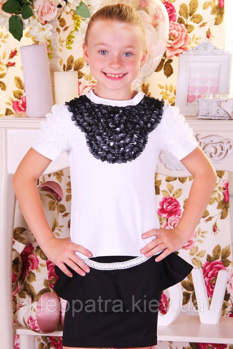 Школьная блуза  для девочки Марина