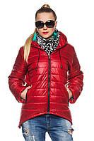 Демисезонная женская куртка- парка  Амина