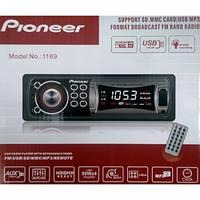 Автомагнитола Pioner 1169 USB/MP3/FM (75 069)