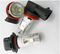 DRL ДХО LED лампи діодні HB4 30W з лінзою