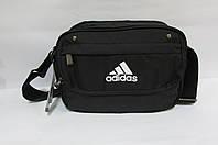 Сумка барсетка Adidas (2027) черная  код 0335А