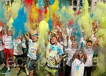 Спорт. Июнь. Благотворительный забег Color Run