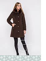 Зимнее пальто женское X-Woyz LS-8593 самая низкая цена в Украине!