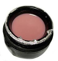 Гель UK NAIL PROFESSIONAL 15 мл однофазный камуфлирующий бежево розовый, фото 1