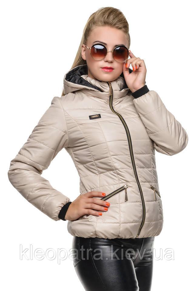 Классная демисезонная женская куртка Анжелика