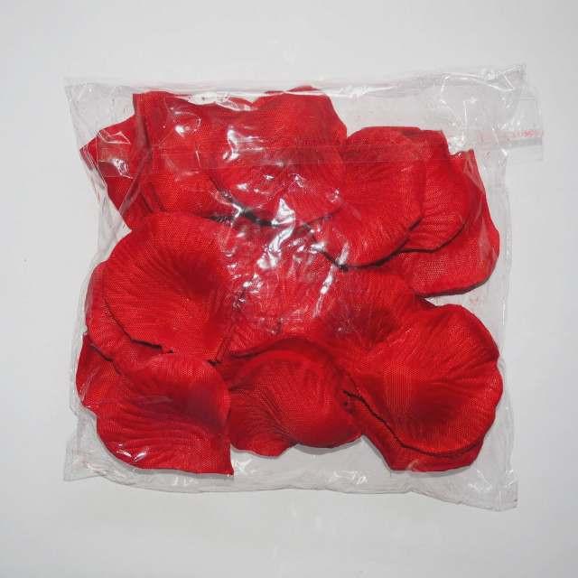 Лепестки роз искусственные SoFun красные 600 шт