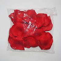 Лепестки роз искусственные (красные) 600 шт