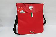Сумка-планшет Puma (072241-02) красная код 0337А