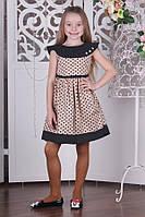 Платье для девочки в горошек BR-1