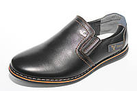Детские туфли для мальчиков ТМ Леопард (разм. с 32 по 37)