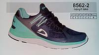 Летние мужские кроссовки повседневные беговые Veer Demax бирюзовый сетка недорого летние 7 км 1489|01657