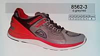 Летние мужские кроссовки повседневные беговые Veer Demax бирюзовый сетка недорого летние 7 км 1489|01658