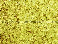 Цветные сахарные кристаллы - Термостабильные - Жёлтые - 3-4 мм
