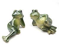 Лягушки керамические пара (16х11х8 см)(7d105-15)