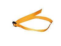 Стяжка для каремата (ремень) - 25 мм/80 см (Nx)(желтый) MTOUR