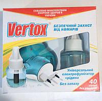 Жидкость + фумигатор VERTOX от комаров, 40 ночей, фото 1