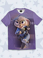 Детская футболка Зоотопия Зайка