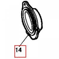 Гнездо манжеты ступицы переднего колеса Т-40 Т25-3103032