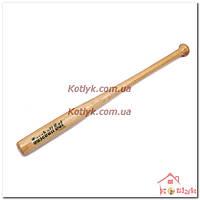 Бита бейсбольная деревянная 81 см