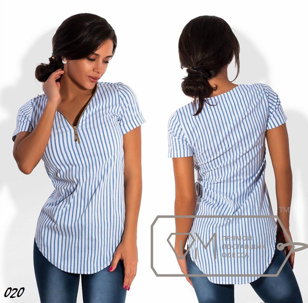 """Рубашка-туника 020 /ОМ - Онлайн-магазин """"Модный-стеллаж"""" в Одессе"""