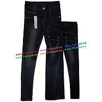 Брюки для девочек PaHhb1222 джинс 6 шт (7-12 лет)