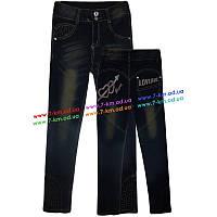 Брюки для девочек PaHhb1220 джинс 6 шт (7-12 лет)