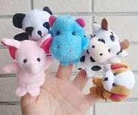 Пальчиковый кукольный театр Зверюшки (10 игрушек)