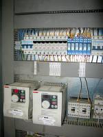 Сборка электрических щитов управления
