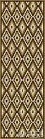 """Сolibri mosaic панно Сolibri mosaic """"Коричневые ромбики"""" мозаичный ковер 60x187"""
