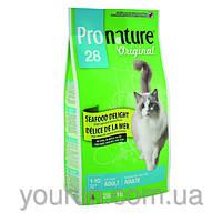Сухой корм для взрослых котов Pronature Original СИФУД ДЕЛАЙТ 2.72кг
