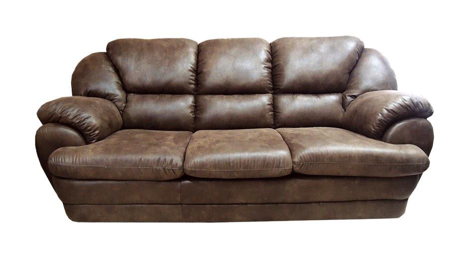 """Мягкий тканевый раскладной диван """"Идэн"""", коричневый (220см)"""