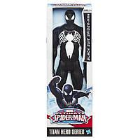 """Большая игрушка Человек-Паук """"Черный Костюм"""" 30 см, серия Титаны - Spider-Man Black Suit, Titans, Hasbro"""