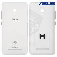 Задняя панель корпуса для Asus ZenFone 5 Lite (A502CG), оригинал (белый)