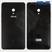 Задняя панель корпуса для Asus ZenFone 6 A600CG, черный, оригинал