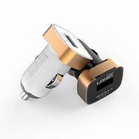 Автомобильное зарядное устройство LDNIO DL-C211 c Micro USB 5V/2.1A (разные цвета)