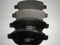 Колодки тормозные передние Geely EC7 EC7RV 1064001724