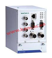 4-канальный промышленный сервер потоковой видеозаписи, H.264/ MJPEG, 1xSATA, разъем M12 (MxNVR-MO4)