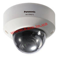 IP-Камера Panasonic HD Dome Network Camera 1280x720 60 fps IR LED PoE (WV-SFN611L)
