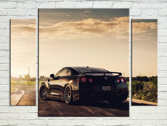 """Модульная картина """"Nissan"""", фото 2"""