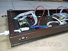 Светодиодная бегущая строка красного цвета LED экран, фото 2