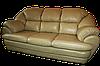 Мягкий диван с креслом в коже Аляска (3р+1), фото 7